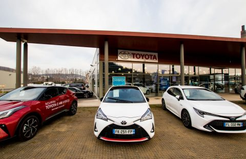 concession toyota autovillage lyon sud